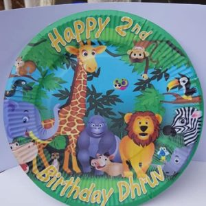 Personalised Paper Plates